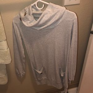 Size small cowl neck sweater